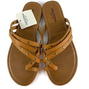 Arizona Women's Glori Strap Sandals Size 7.5M